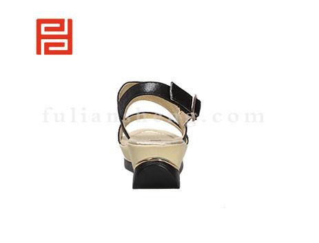 福联升布鞋女鞋FLB-532228黑色销售中图片