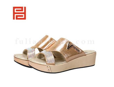 福联升布鞋女鞋FLB-532230金黄销售中