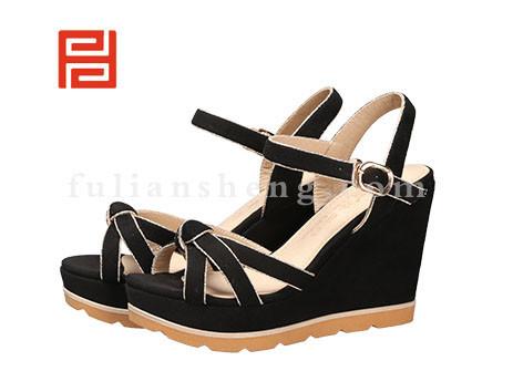 福联升布鞋女鞋FLB-532256黑色销售中