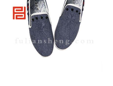 福联升布鞋男鞋FLA-542011蓝色销售中
