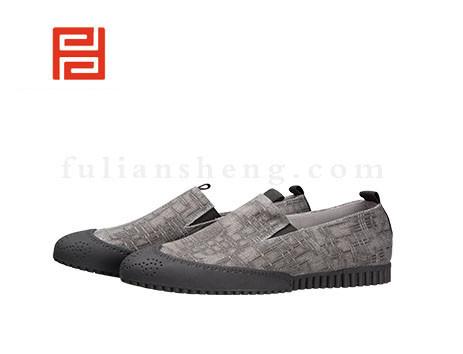 福联升布鞋男鞋FLA-542109黑色销售中
