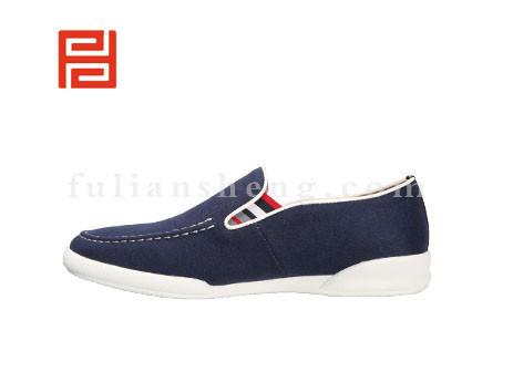 福联升布鞋男鞋FLA-542127深蓝销售中