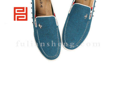 福联升布鞋男鞋FLA-542127蓝色销售中