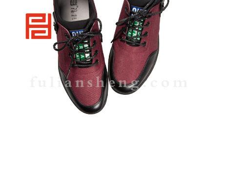 福联升布鞋男鞋FLA-552101红色销售中