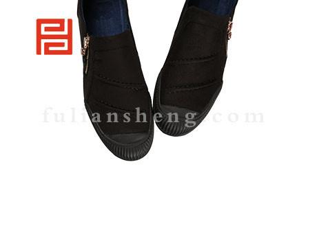 福联升布鞋男鞋FLA-552155黑色销售中