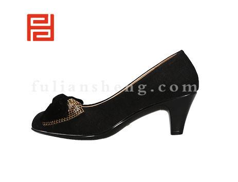 福联升布鞋女鞋FLB-542018黑色销售中