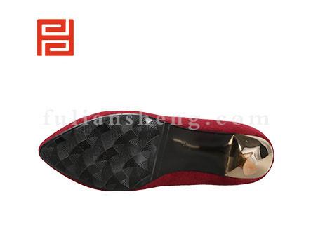 福联升布鞋女鞋FLB-542190酒红销售中