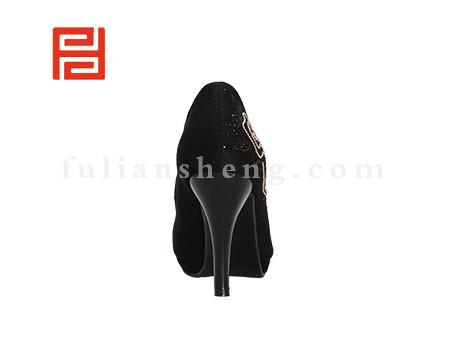 福联升布鞋女鞋FLB-542226黑色销售中