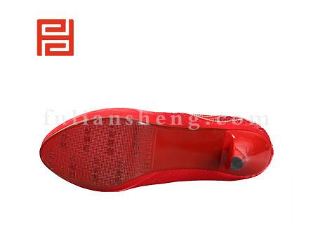 福联升布鞋女鞋FLB-549228红色销售中