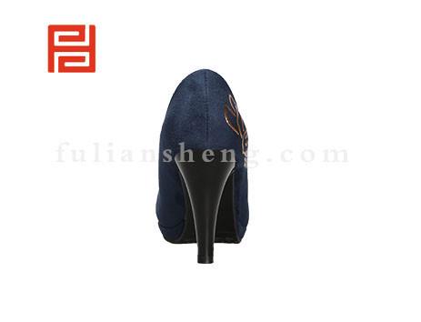 福联升布鞋女鞋FLB-552230蓝色销售中