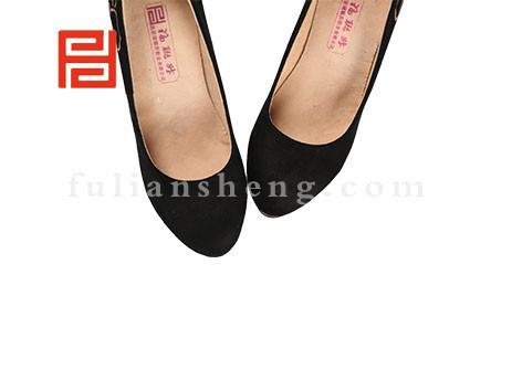 福联升布鞋女鞋FLB-552230黑色销售中